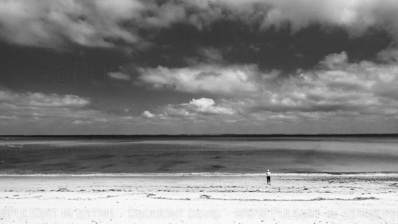 plage ile de ré cairn