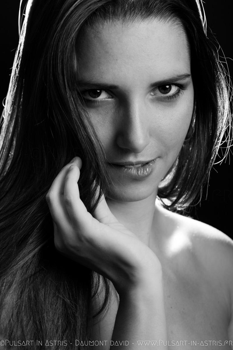 Portrait femme glamour