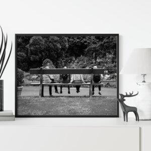 Affiche photographie décoration murale nantes, noir et blanc