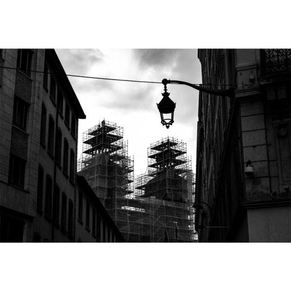 Affiche décor urbain, photographie ville, déco industrielle