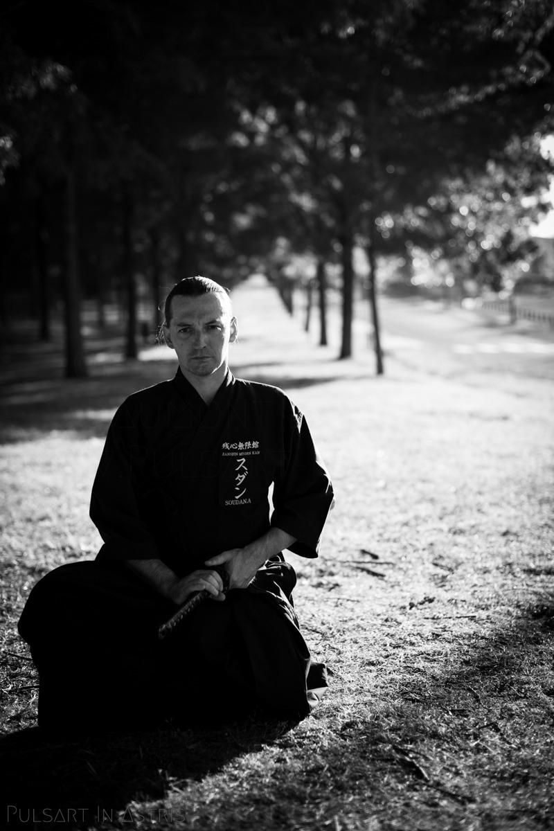 homme au katana iaido
