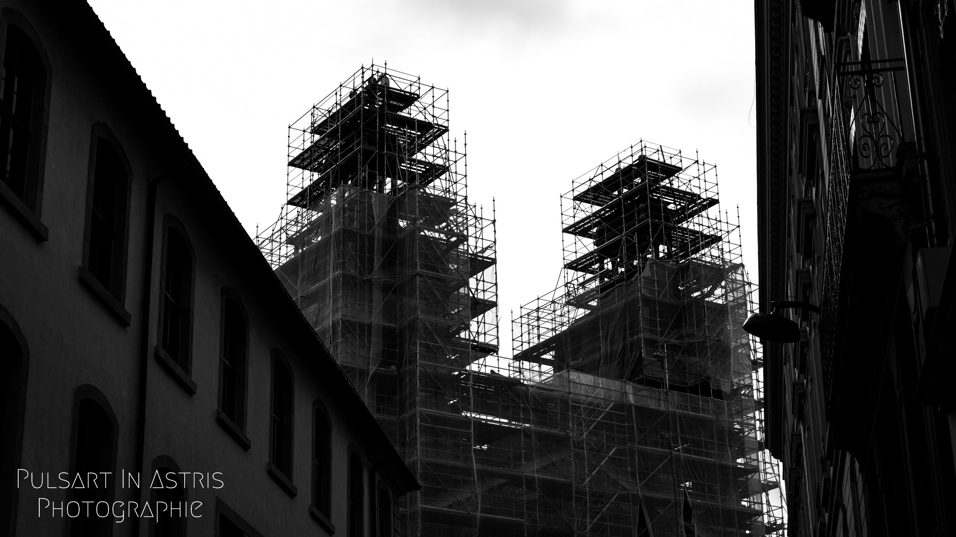 immeubles en travaux