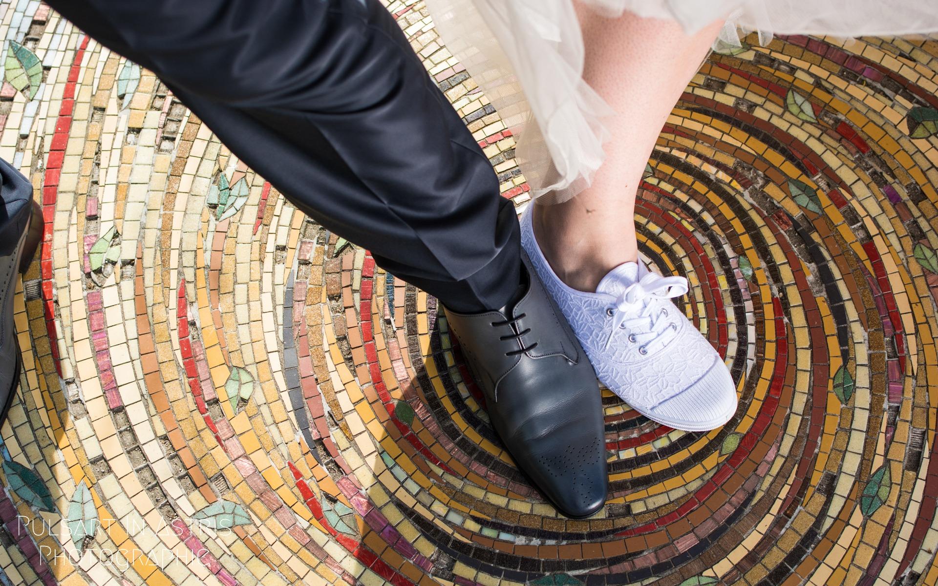 chaussure des mariés