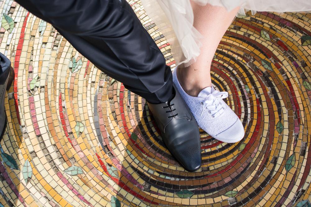 fine art chaussure mariés