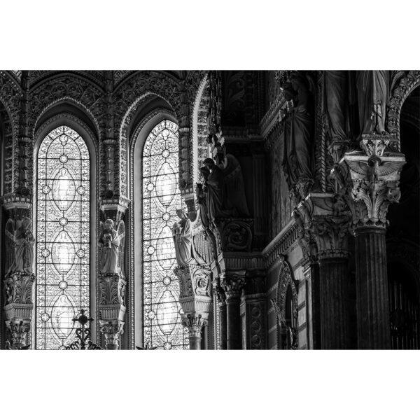 interieur de la basilique de Lyon