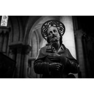 sculpture dans cathédrale saint omer
