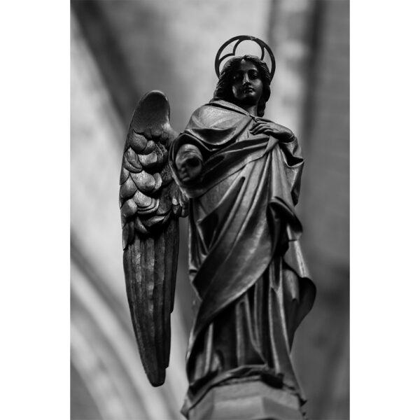 sculpture ange bois cathédrale 5