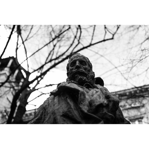 statue de bronze Lyon