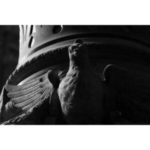 statue oiseau cathedrale
